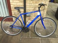 Men's Apollo Hybrid Bike - Only used once