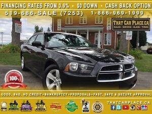 2014 Dodge Charger SE-$61/Wk-Clean Carproof-V6-USB/AUX-Push Star