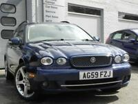 Jaguar X-Type 2.2d Estate Sovereign 5dr Auto DPF (blue) 2010
