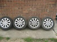 Vauxhall Zafira Alloy Wheels and Tyres 16 inch Vauxhall Astra Alloys wheels and Tyres
