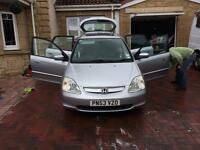 Honda Civic 1.6l petrol hatchback