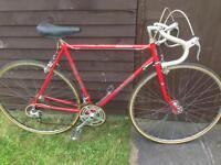 Vintage Carlton road racing touring city bike