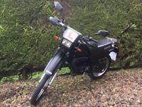 Yamaha DT 50 49cc 50cc black enduro trail adventure bike