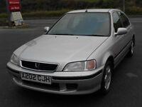 HONDA CIVIC 1.4 i S AUTO, 5 DOOR, NEW MOT, 2000 'X REG, 95'000 MILES, 2 OWNERS, ALLOYS, A/C, CD, VGC