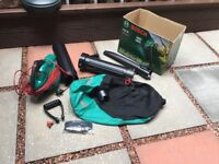 Bosch leaf blower and vacumm