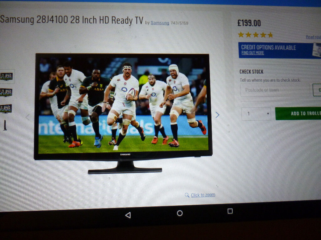 SAMSUNG TV 28 INCH HD READY ONLY 3 MONHS OLD BRAND NEW