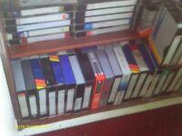 video tapes job lot