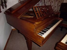 baby grand piano by john brinsmead 5ft