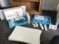 Nintendo wii and wii fit plus 9 games