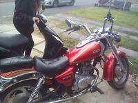 sinnis vista 125cc motorcycle