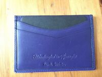 Genuine Mens Paul Smith card holder