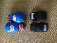 Lonsdale Boxing Sparring 14oz and Mitts