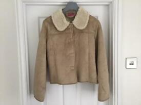 New fleece lined jacket size 12/14