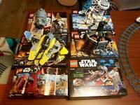 6 Lego Star Wars sets