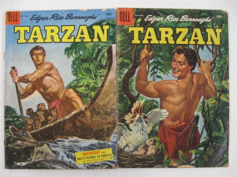 TARZAN LOT 9 COMICS Guide $70