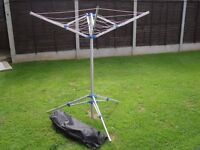 FOLD AWAY WASHING LINE new in bag