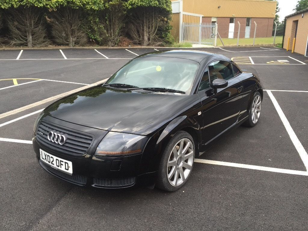 2002 audi tt 1 8 225 quattro black heated leather alloys 12 month mot 3 month warranty. Black Bedroom Furniture Sets. Home Design Ideas