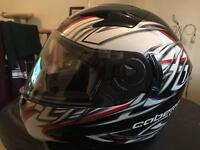 CABERG V2R Zenith Motorcycle Motorbike helmet LARGE with carrying bag