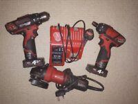 Milwaukee drills kit