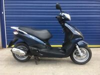 2016 PIAGGIO FLY 125cc SCOOTER, HPI CLEAR , CLEAN BODYWORK , RUNS AND RIDES GREAT