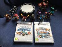 Skylanders spyros adventure & Giants games for PS3