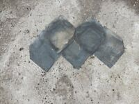 DECORATIVE SLATES APPROX 14X10