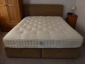 Super King bed - Harrison bed frame (with storage) + mattress - in very good condition