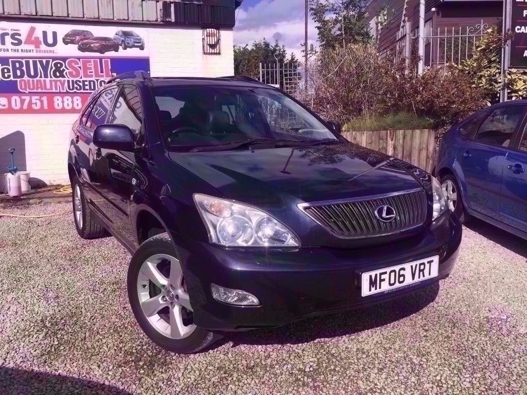 06 LEXUS RX300 SE AUTO 3.0 PETROL ESTATE IN BLUE *PX WELCOME* MOT TILL JANUARY 2018 £4495