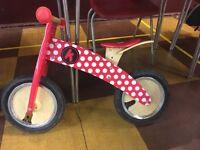 Kids Kiddimoto balance bike