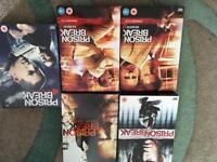Prison break dvds seasons 1 /4
