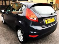 2011 FORD FIESTA ZETEC 1.5 DIESEL,ONLY£20 ROAD TAX YEAR, EXCELLENT CONDITION, PART-EXCHANGE WELCOME