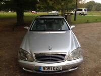 Mercedes s class 3.2 cdi 120ooo Miles full service h history