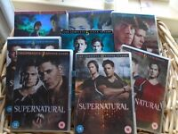 Supernatural - Set of DVD's - Season One to Eight
