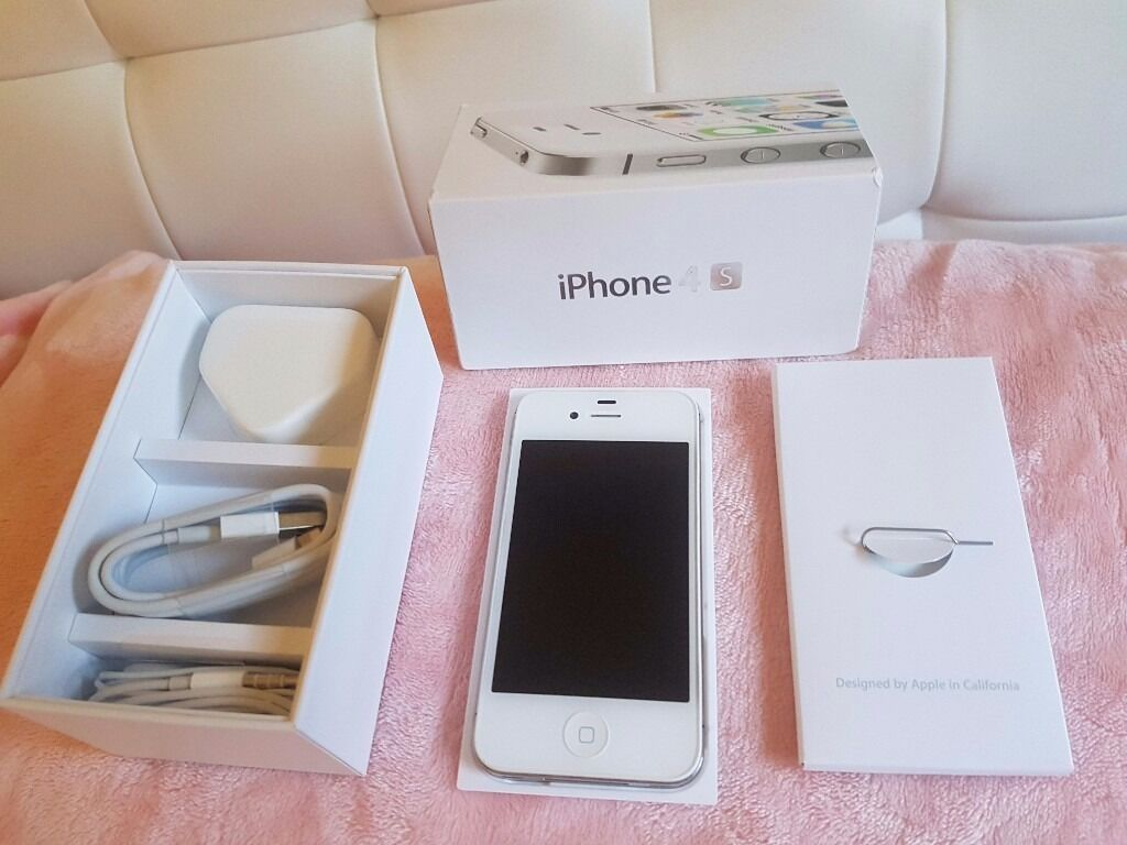 Iphone 4s whiteimmaculate) readin Pentre, Rhondda Cynon TafGumtree - Iphone 4s white and unlocked ready for your sim card. This iphone is in immaculate condition as you can see from the photos. The accessories and box are in like new condition. Any questions please ask . Thanks