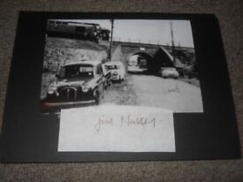 The Great Train Robbery James Hussey autograph signed in person Big Jim bruce reynolds