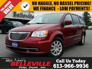 2013 Chrysler Town & Country Touring-Power Sliding Doors/Liftgat