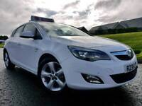 (White) 2011 Vauxhall Astra 1.6 SRI 5 Door! Stunning Car! Only 51,000 MILES! AS NEW! FSH! Great Spec