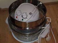 17 litre halogen oven with air fryer rack