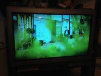 """37""""big back tv"""