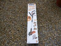 Worx 20volt lithium cordless grass trimmer with 2 lithium batts brand new boxed 3 year guarantee