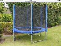 EIGHT 8 FOOT TRAMPOLINE WITHOUT ENCLOSURE