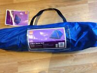 2 MAN DOME TENT BRAND NEW UNUSED BARGAIN / FESTIVALS / FISHING / CAMPING / £8 ONO