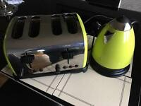 Toaster & Kettle Set