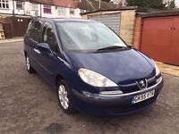 2005 Peugeot 807 2.0 HDi S 5dr 7 Seater HPI Clear Brand New Flywheel and Clutch @07445775115@