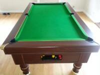 Professional billiard pool table