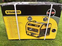 Heavy Duty 6.5HP STANLEY SG-2200 SG 2200 2.2KW Generator with Shroud -- Brand New Stock