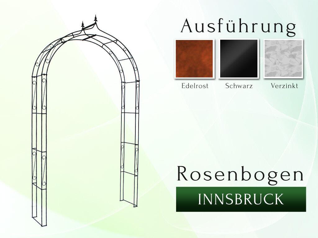 Rosenbogen INNSBRUCK B 1m  Pergola Metall Spalier Rankhilfe Torbogen Gazebo Arch