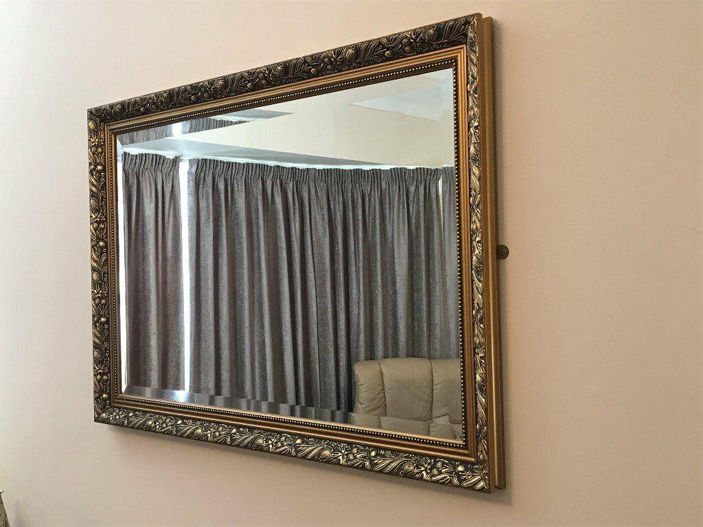 Excellent Lounge Bevelled Edge Decorative Mirror 3 X 2