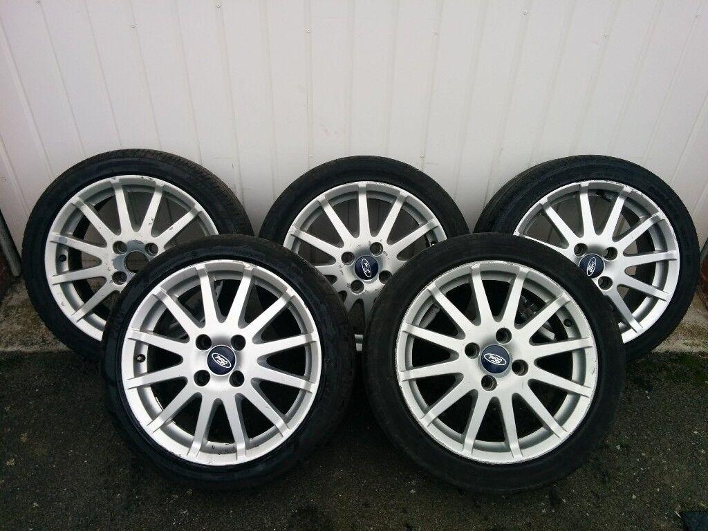 "x5 Ford Fiesta Zetec S 16"" alloys wheels"