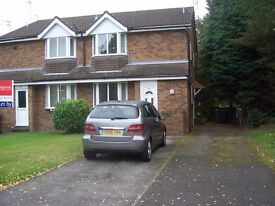 Wilmslow house with off road parking and garden